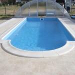 Prywatny basen ogrodowy